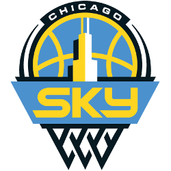 Chicago Sky Primary Logo 2019 - Present