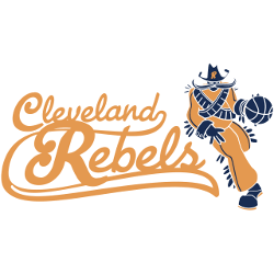 Cleveland Rebels Primary Logo 1946 - 1947