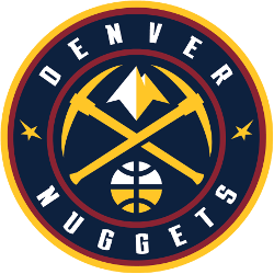Denver Nuggets Primary Logo 2019 - Present