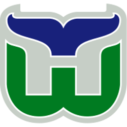 Hartford Whalers Primary logo 1993 - 1997