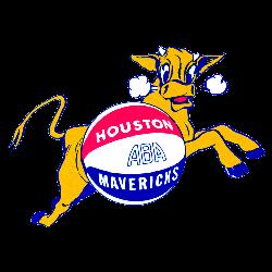 Houston Mavericks Primary Logo 1967 - 1969