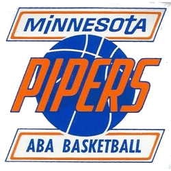 Minnesota Pipers Primary Logo 1968 - 1969