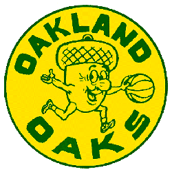 Oakland Oaks Primary Logo 1967 - 1969