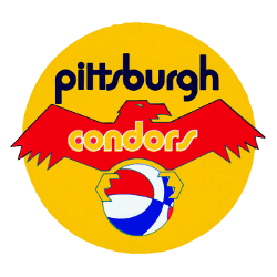 Pittsburgh Condors Primary Logo 1972
