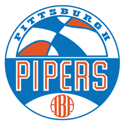 Pittsburgh Pipers Primary Logo 1969 - 1970