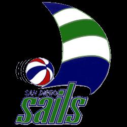 San Diego Sails Primary Logo 1975