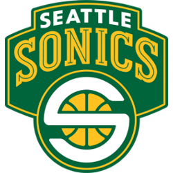 Seattle Sonics Primary Logo 2002 - 2008