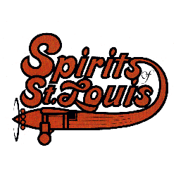 Spirits of St. Louis Primary Logo 1974 - 1976
