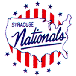 Syracuse Nationals Primary Logo 1950 - 1963
