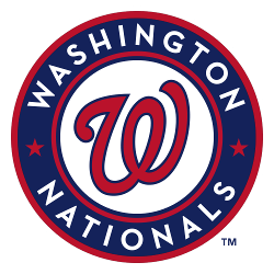 Washington Nationals Primary Logo 2011 - Present
