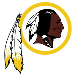 Washington Redskins Primary Logo 1983 - Present