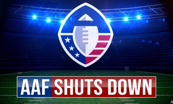 AAF Shutdown 2019