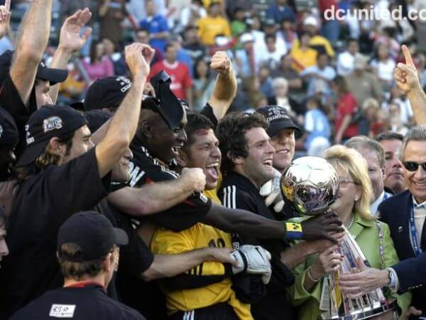 DC United MLS Champs 2004