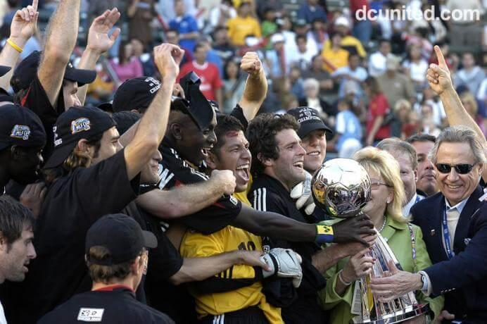 DC United MLS Champs 2004