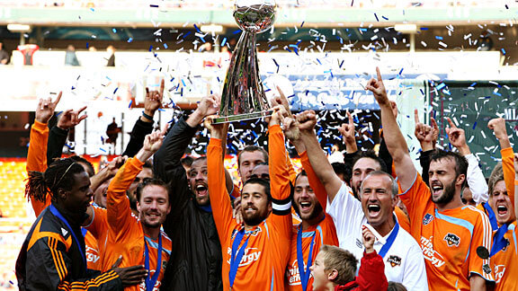 Houston Dynamo MLS Champs 2007