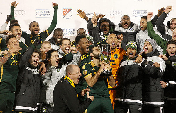 Portland Timber MLS Champs 2015