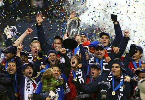 Real Salt Lake MLS Champs 2009