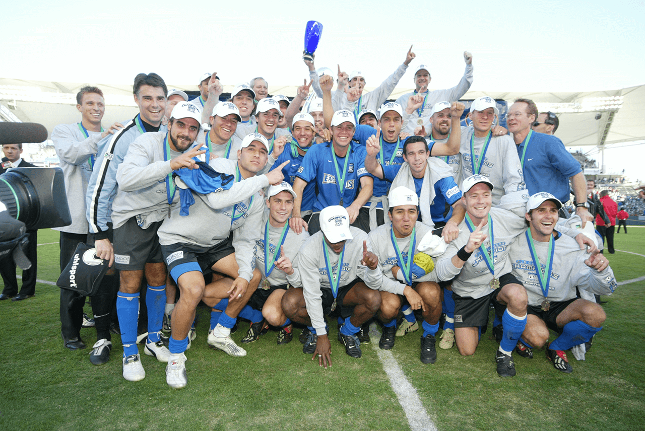 San Jose Earthquakes MLS Champs 2003