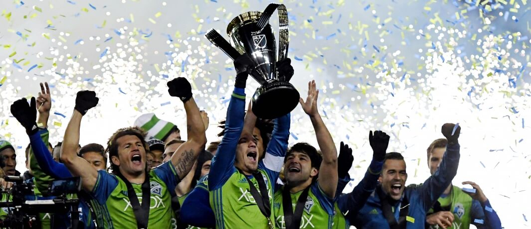 Seattle Sounders FC MLS Champs 2016