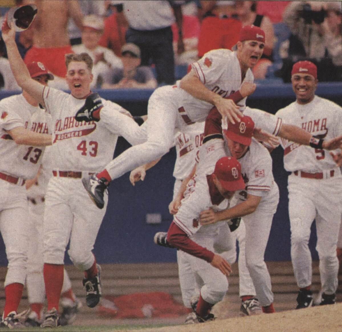 Sooners Baseball Champs 1994