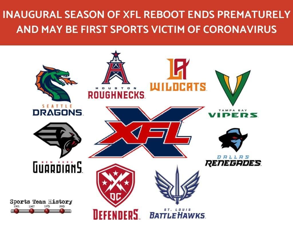 XFL ReBoot Cancel Season 2020