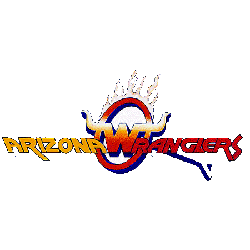 Arizona Wranglers Primary Logo 1983 - 1984