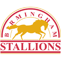 Birmingham Stallions Primary Logo 1983 - 1985