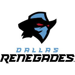 Dallas Renegades Primary Logo 2020 - Present