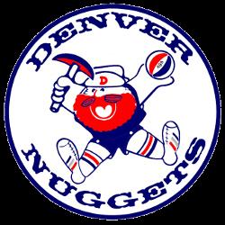 Denver Nuggets Primary Logo 1974 - 1976