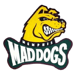 Memphis Mad Dogs Primary Logo 1995