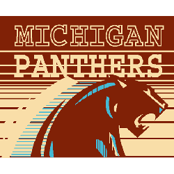Michigan Panthers Primary Logo 1983 - 1984
