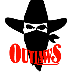 Oklahoma Outlaws Primary Logo 1983 - 1984