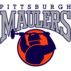 Pittsburgh Maulers Primary Logo 1983 - 1984