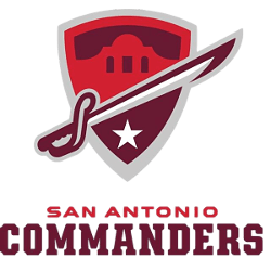 San Antonio Commanders Primary Logo 2018