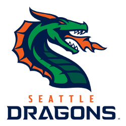 Seattle Dragons Primary Logo 2020 - Present