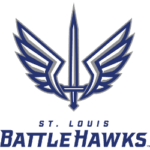 St. Louis Battlehawks Primary Logo 2020 - Present