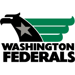 Washington Federals Primary Logo 1983 - 1984