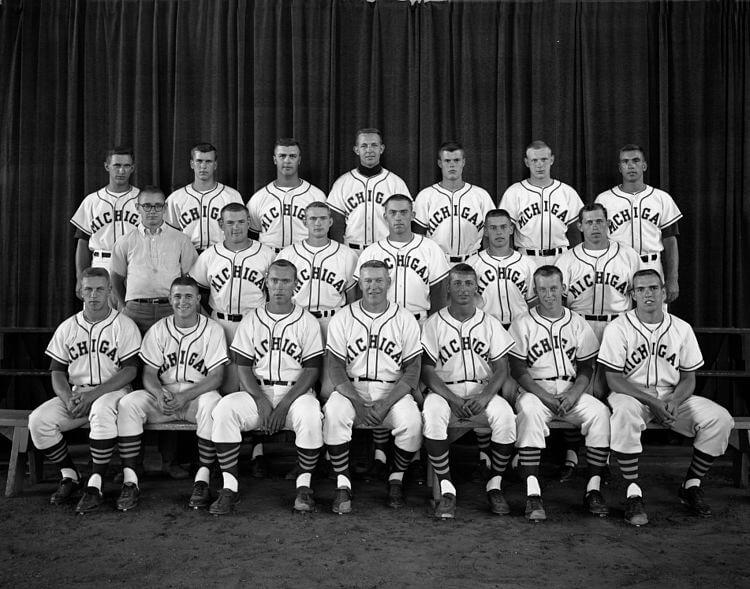 1962_Michigan_Baseball_Team_Photo