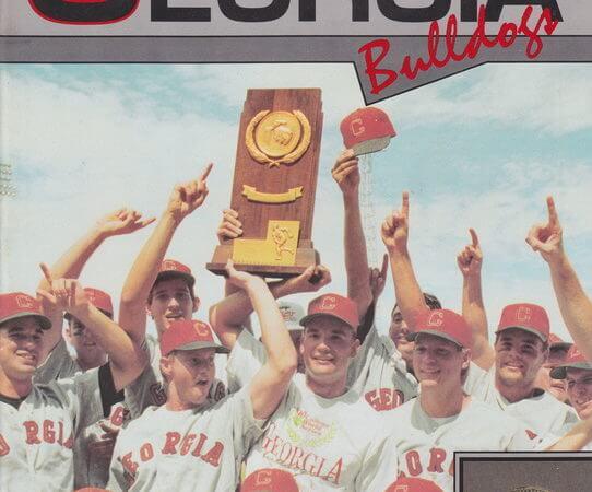 1991 Baseball Georgia Bulldogs
