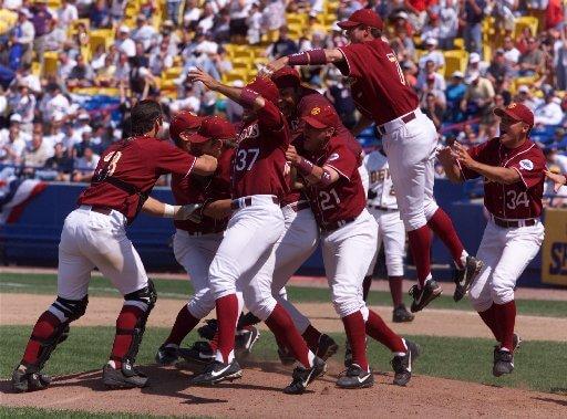 1998 Trojans Baseball Champions