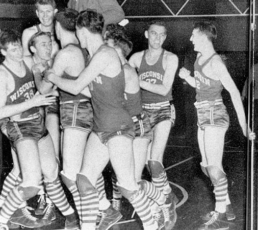 Badgers 1941 Basketball Champs