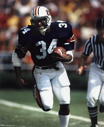 Bo Jackson Auburn Tiger