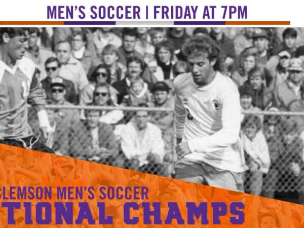 Clemson Tigers Soccer Champs 1987
