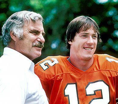 Coach Howard and Jim Kelly