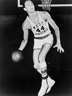 Jerry West West Virginia 1960