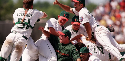 Miami Hurricanes 2001 College World Series