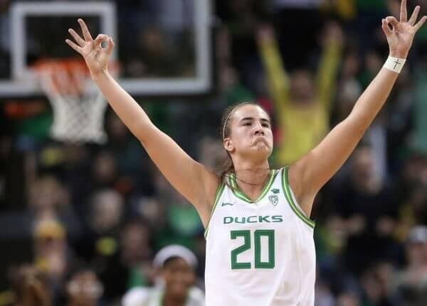 Oregon Ducks Sabrina Ionescu 2019