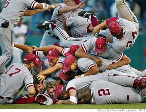Stanford Cardinal Baseball Champs 1988