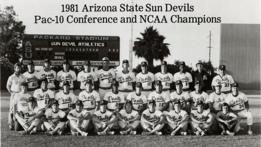 Sun Devils 1981 Team Photo