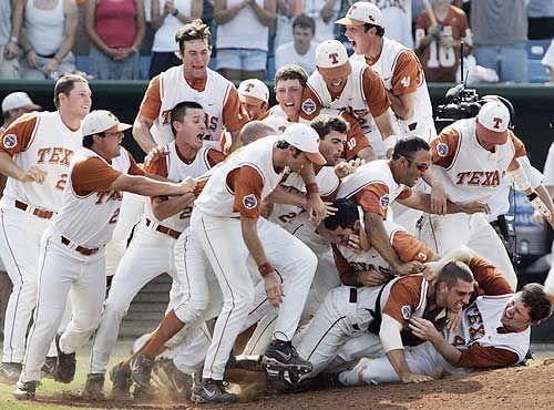 2005 Texas Baseball College World Series Champs Sports Team History